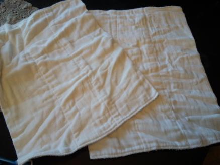 Gerber Cloth Prefold Diapers 6 Ply Birdseye